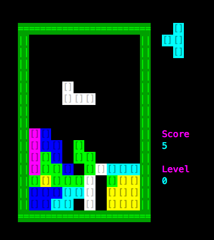 Video Tutorial)Create a Tetris Games on Linux with Shell Scripts