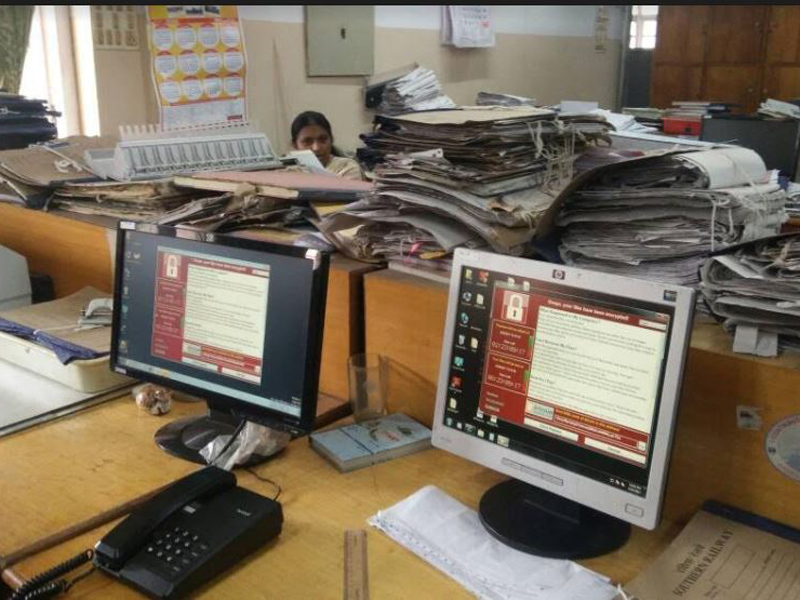 The WannaCry ransom attack had hit around 23 computers of Palakkad division of Southern Railway last Tuesday.